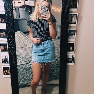 PACSUN jean skirt size 24